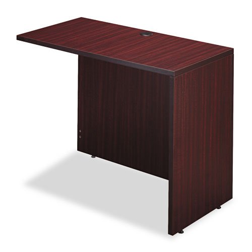 - Valencia Series Reversible Return/Bridge Shell, 42w x 23-5/8d. Mahogany by MOT
