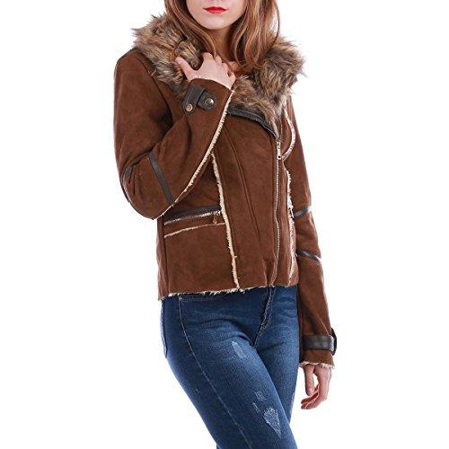 La Modeuse - Chaqueta - para mujer marrón