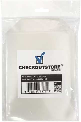 CheckOutStore 200 Stamp /& Die Clear Storage Pockets 5 5//8 x 7 3//8