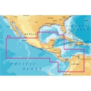 Magellan MapSend BlueNav XL3 Charts for Meridian Central America Salt/Freshwater Map microSD Card