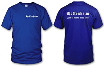 Fan-T-Shirt Ultras S-XXL FRANKFURT Never walk alone