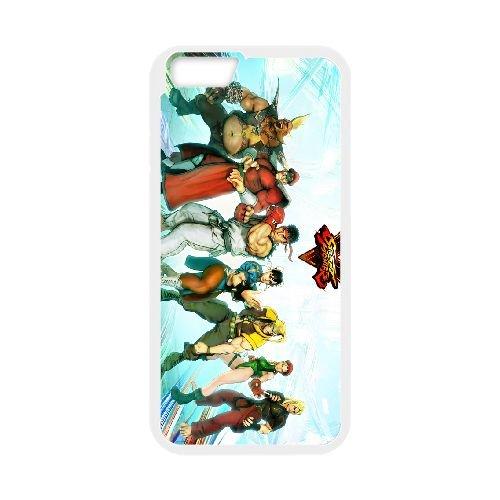 Street Fighter V 3 coque iPhone 6 Plus 5.5 Inch cellulaire cas coque de téléphone cas blanche couverture de téléphone portable EEECBCAAN03096