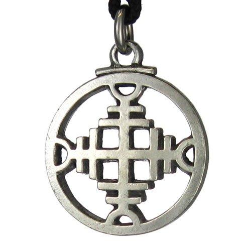 Icelandic Binding Rune Repels Evil Pendant Galdrastafir Viking Jewelry Asatru Necklace PP-412-021