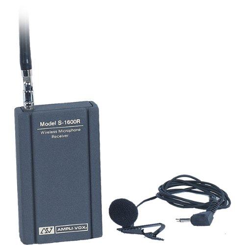 AMPLIVOX LAPEL MIC KIT Electronics & computer accessories