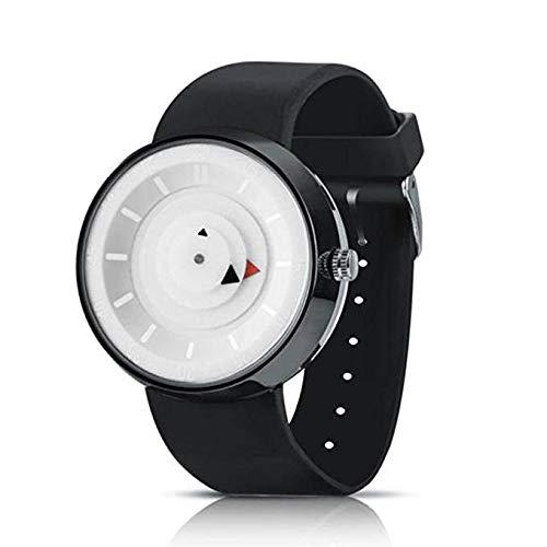 Reloj de Cuarzo Unisex para Hombre para Mujer, Reloj análogo de Moda único y análogo