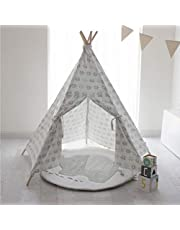 Bubba Blue Petite Elephant Teepee Tent, Grey, White, red