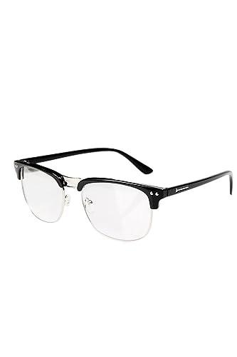 Vococal - Mezza Montatura Occhiali Stile Classico / Occhiali da Vista Frame Pianura Occhiali con Len...