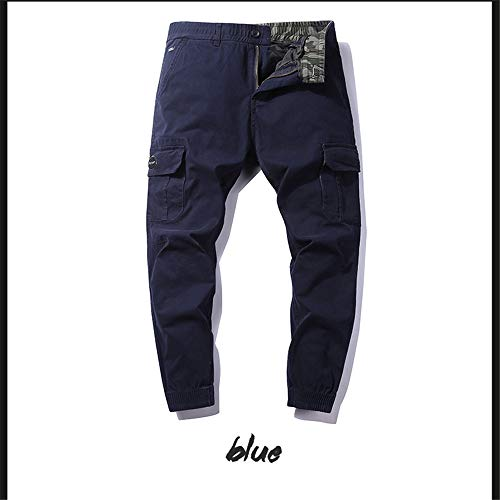 Casual Weentop Cargo Pour Homme Taille Slim 32 Pull Pantalon on couleur Noir Bleu 4aqtEFxwx