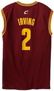 adidas NBA Cleveland Cavaliers Kyrie Irving # 2la réplica de la Camiseta de los Hombres, NBA, Hombre, Color Road, tamaño 3XL