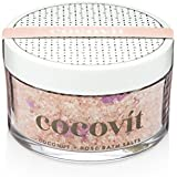 Cocovit - Organic Coconut + Rose Bath Salts (7oz)