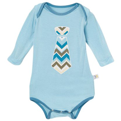Amazon.com  Long Sleeve Tie Onesie 0-3 mo.  Clothing 86c682b9a