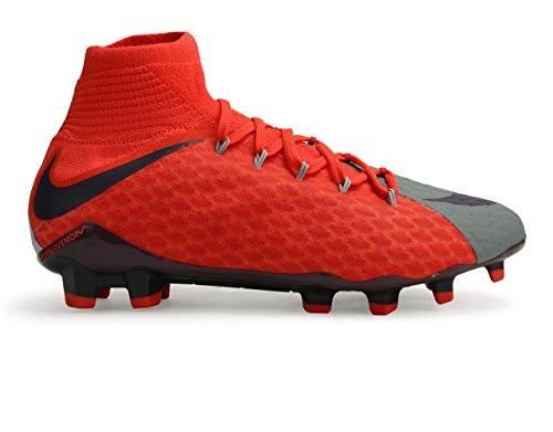 Nike Womens Hypervenom Phatal Iii Dynamic Fit Fg Wolf Grey/Purple Dynasty/Max Orange Soccer Shoes amWtw