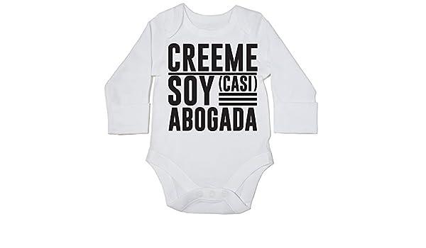 Abogada Body Bodys Pijama ni/ños ni/ñas Unisex Casi HippoWarehouse Cr/éeme Soy