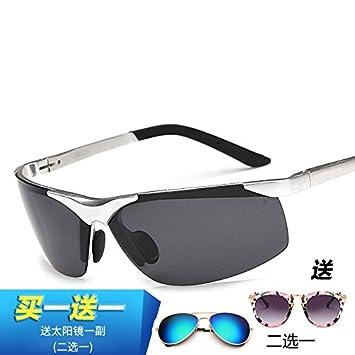HHHKY&T Gafas De Sol Polarizadas La Construcción De Aleación Sun Alto Brillo Óptica Gafas Gafas De