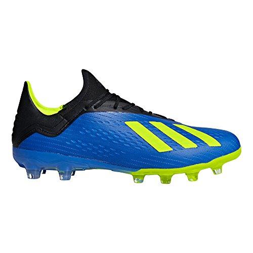 タイトほとんどない関数adidas(アディダス) メンズ サッカースパイク エックス 18.2 ジャパン HG BB6953 フットボールブルー 25.5