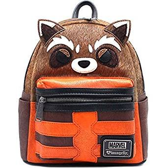 1a53ed6e13 Loungefly Rocket Raccoon Guardians Of The Galaxy Costume Cosplay Mini  Backpack Multicoloured Size  Large