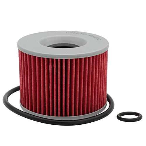 Cyleto Oil Filter for HONDA CB750 CB 750 1969 1970 1971 1972 1973 1974 1975 1976 1977 1978 1979/CB750F CB 750F 1980 1981 1982 1983 1984 1985