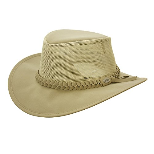 Aussi Golf Soakable Mesh Hat Khaki - X Large (Mesh Hat Beige)