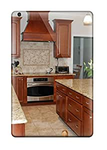 Traditional Kitchen With Tiled Backsplash Case Compatible With Ipad Mini/mini 2/ Hot Protection Case