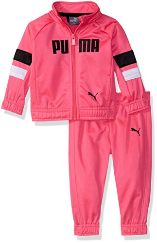 (PUMA Baby Girls Tricot Track Set, Knock Out Pink, 24M)