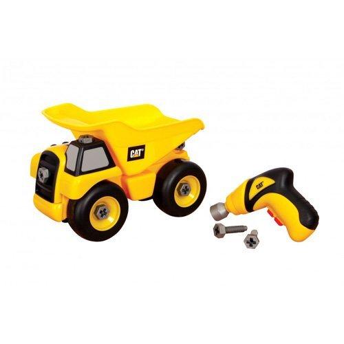 (Toy State Caterpillar Construction Take-A-Part Trucks: Dump Truck)