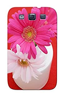 Fashionable Style Case Cover Skin Series For Galaxy S3- Pink Daisy