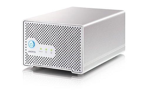 Akitio Neutrino Thunder Duo 4TB HDD (2TB x 2)