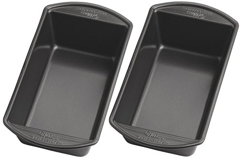Wilton 2105 6806 Perfect Results Large Nonstick Loaf Pan  9 25 By 5 25 Inch  Pack Of 2 Pans