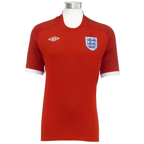 (England 10/11 Away Soccer Shirt)