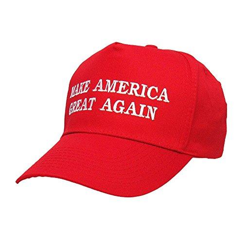 Rouge Donald Le Casquette Etats Halloween Faire Amérique Brodée Trump Chapeau Encore Président 2016 unis Aminori Fois Une Grande vOHExqwwnd