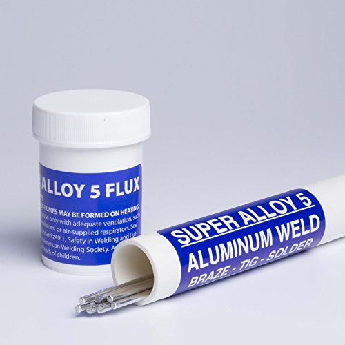Muggy Weld Super Alloy 5 Aluminum Brazing Kit 3/32