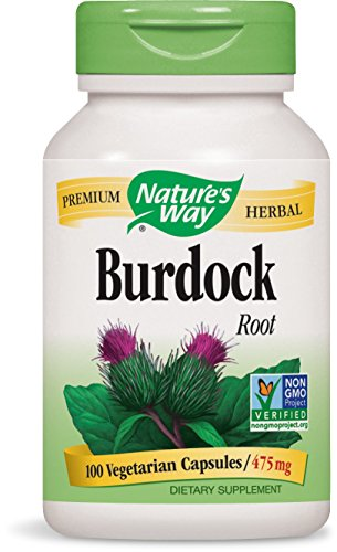 Nature's Way Burdock Root 475 Mg Per Cap, 100 Vcaps, 100 Count