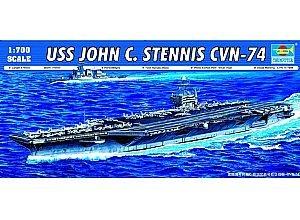 USS John C Stennis CVN74 Aircraft Carrier 1/700 Trumpeter