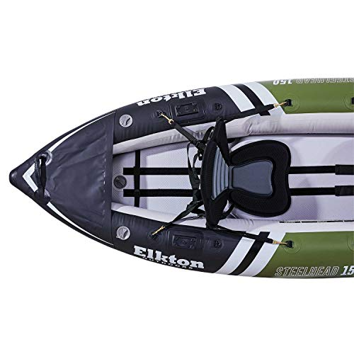 Elkton Outdoors Inflatable Fishing Kayak