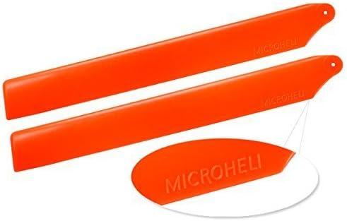 Microheli Plastic Main Blade 155mm ORANGE BLADE 180 CFX MH-18FX003OR 180CFX