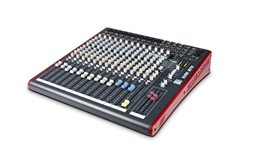 Allen & Heath ZED-16FX 16-Channel Multi-Purpose USB Mixer with FX for Live Sound and Recording by Allen & Heath