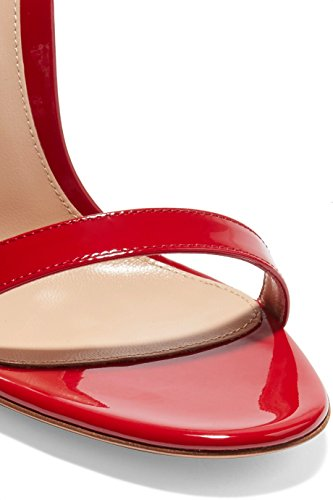 Heels Sandals For Heel Strap High A Peep Open Red Shoes Party Toe Ubeauty Buckle Ankle Stiletto Womens 12cm Sgq7xXfWwX