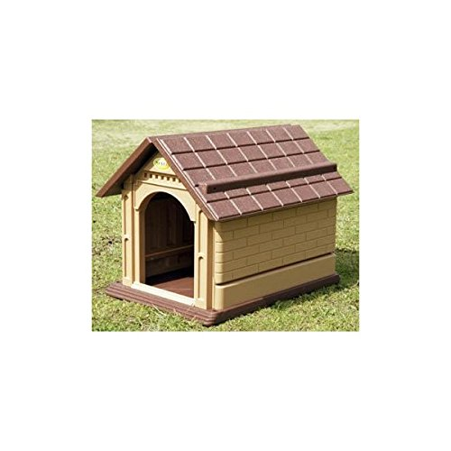 Casa de perro doble pared de resina para exterior. - XXL: Amazon.es: Jardín
