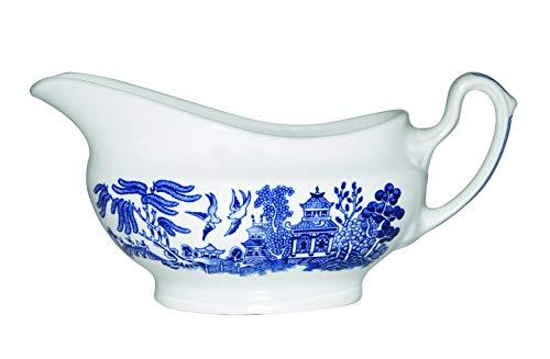 - Churchill Blue Willow Dinnerware (Gravy Boat 12 Oz)