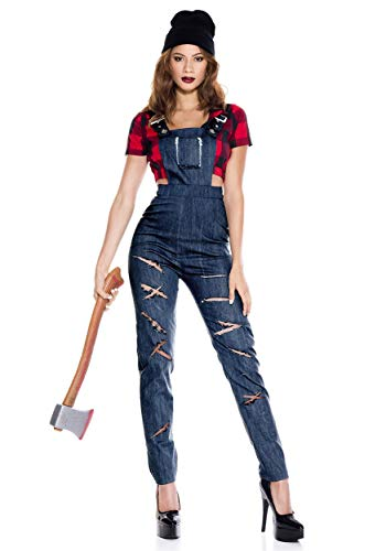 Music Legs Women's Lady Lumberjack Costume Small/Medium