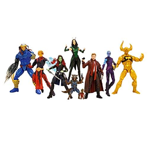 Guardians of the Galaxy Marvel Legends Action Figures SET (Guardians Of The Galaxy 2 Toys Hasbro)