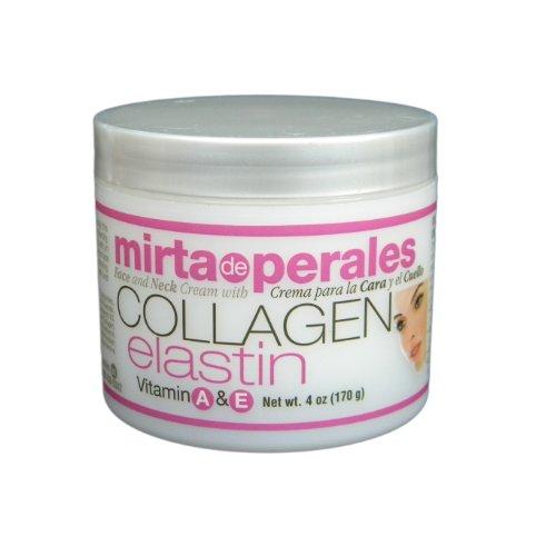 Mirta De Perales collagène élastine Crème, 4 once