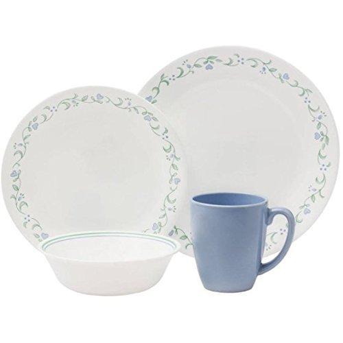 Corelle 16 Piece Modern & Fresh Style Livingware Dinnerware