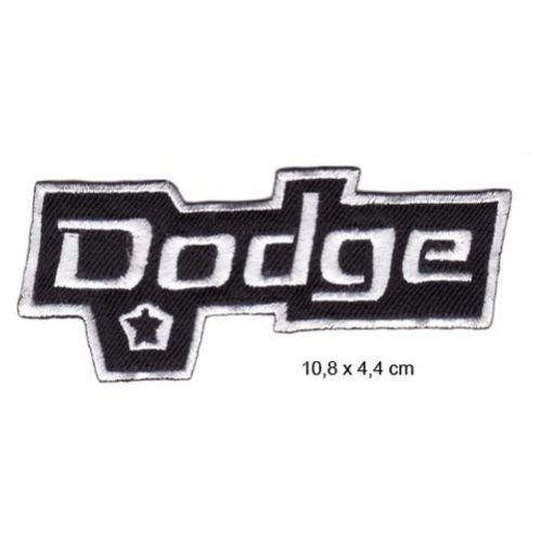 DODGE VIPER Charger Challenger Ram Van GTS SRT10 Nascar Motorsport Patch Sew Iron on Embroidered
