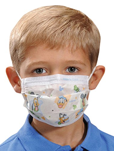 Halyard Health 32856 Disney Child's Face Mask (Pack of 75)