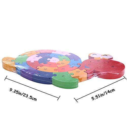 Preschool Toys 3 5 Years : Dd wooden blocks jigsaw puzzles winding snail toys letter