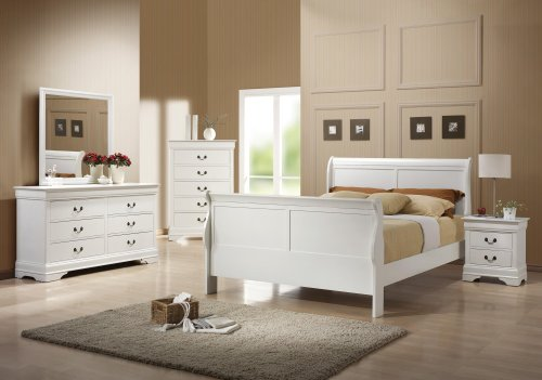 Coaster Home Furnishings 204693 Traditional Dresser, White