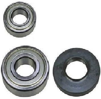 Rodamientos de tambor Juego de almacenamiento Para Bosch Siemens 00172686 172686 que consiste en 6205ZZ / 6306ZZ Sello del eje 35x72x10/12