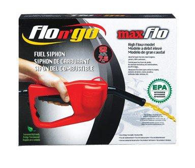 Flo N Go 08338 MaxFlo Siphon Pump (Gas Caddy)