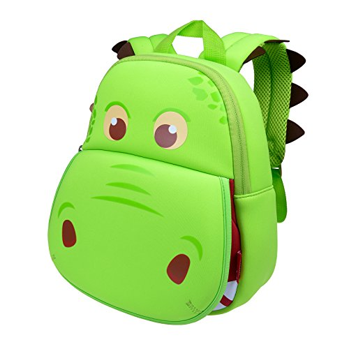 Ofun Backpack For Kids [Cool Tyrannosaurus Green] Gift For Children 2-8 years old OF028-G